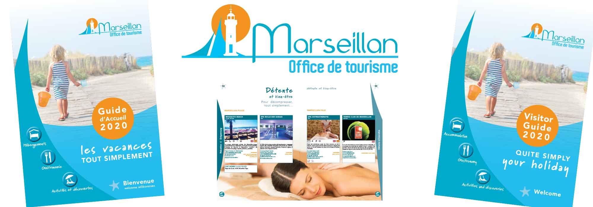 Guide Accueil pour l'office de Tourisme de Marseillan